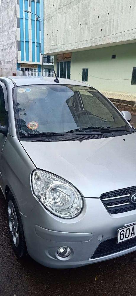 Bán xe Kia Morning đời 2011, màu bạc chính chủ xe nguyên bản (11)