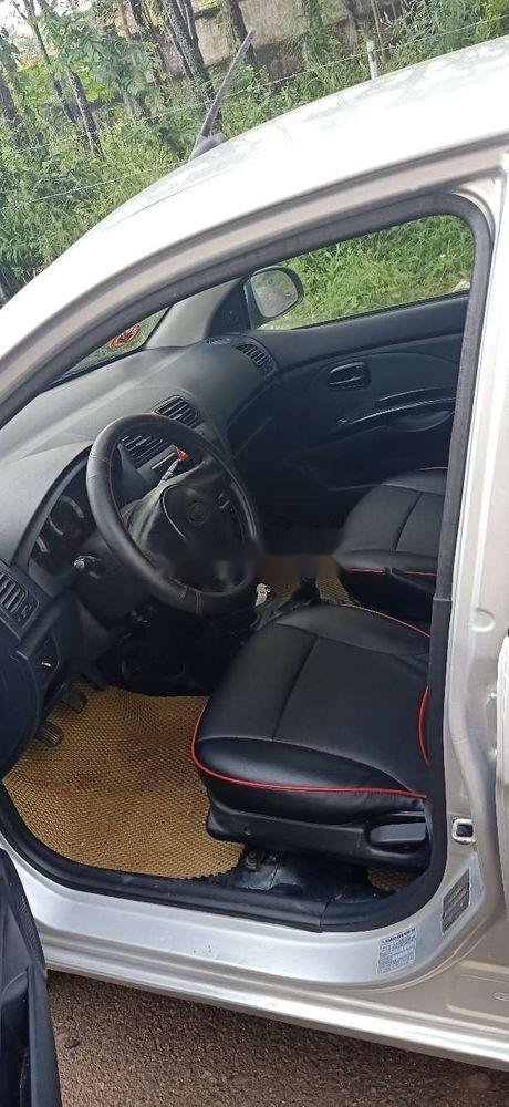 Bán xe Kia Morning đời 2011, màu bạc chính chủ xe nguyên bản (7)