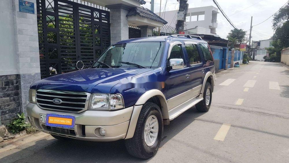 Bán Ford Everest đời 2005, màu xanh lam, nhập khẩu nguyên chiếc chính hãng (11)