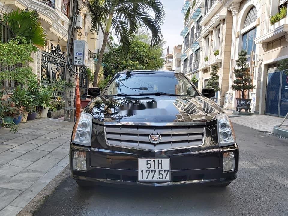 Bán Cadillac SRX năm 2005, màu đen, nhập khẩu nguyên chiếc chính hãng (1)
