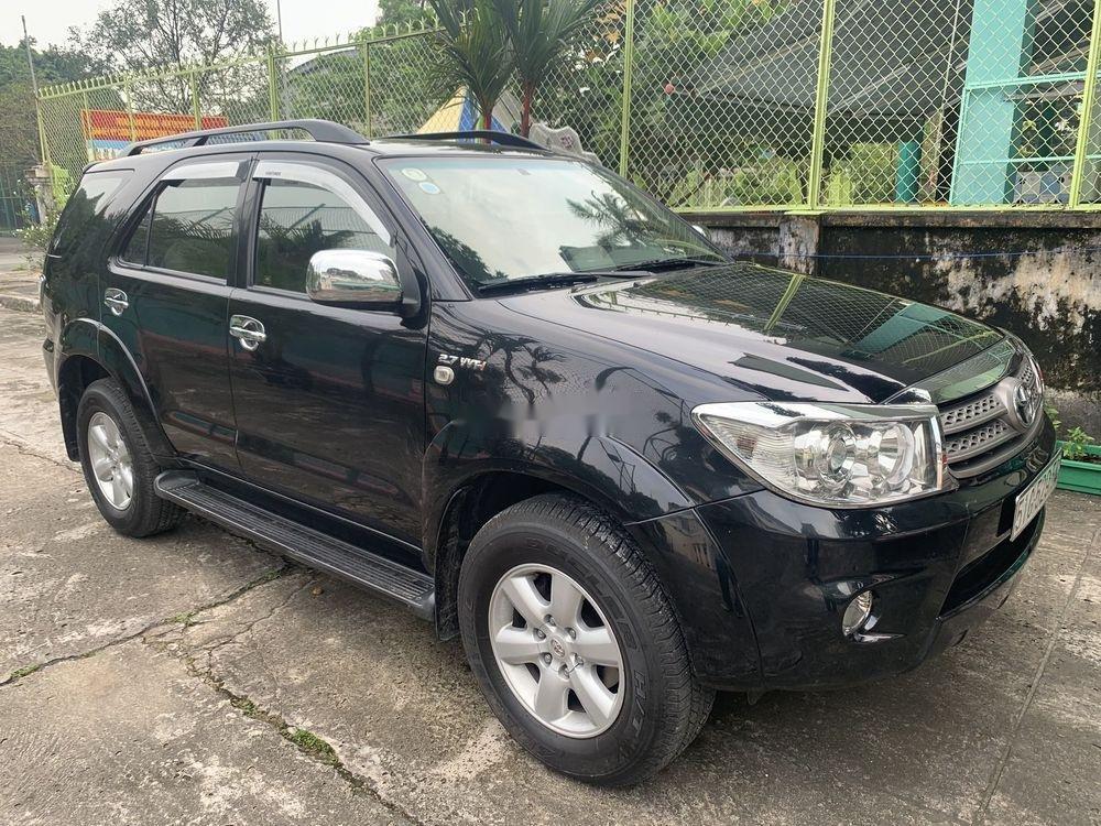 Cần bán gấp Toyota Fortuner đời 2010, màu đen như mới, giá tốt xe nguyên bản (1)