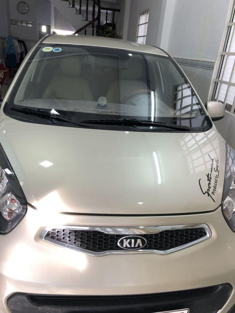 Cần bán Kia Morning năm sản xuất 2014, màu bạc, xe gia đình, giá tốt (1)