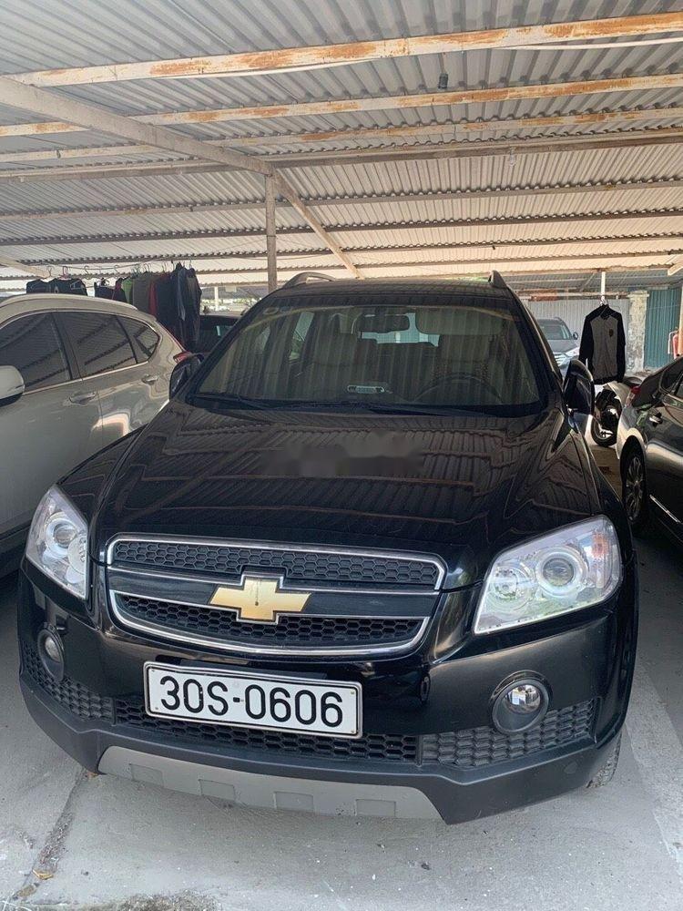 Cần bán lại xe Chevrolet Captiva năm 2009 xe gia đình (3)