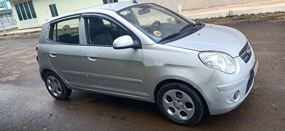 Bán xe Kia Morning đời 2011, màu bạc chính chủ xe nguyên bản (8)