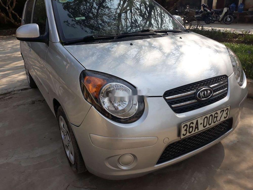 Cần bán lại xe Kia Morning MT đời 2012, màu bạc, 145tr (7)
