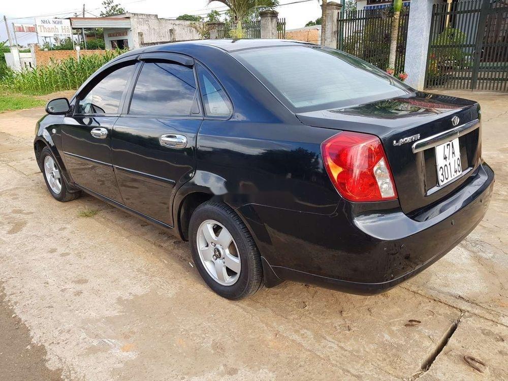 Cần bán xe Daewoo Lacetti 2008, màu đen chính chủ, giá 173tr xe nguyên bản (3)