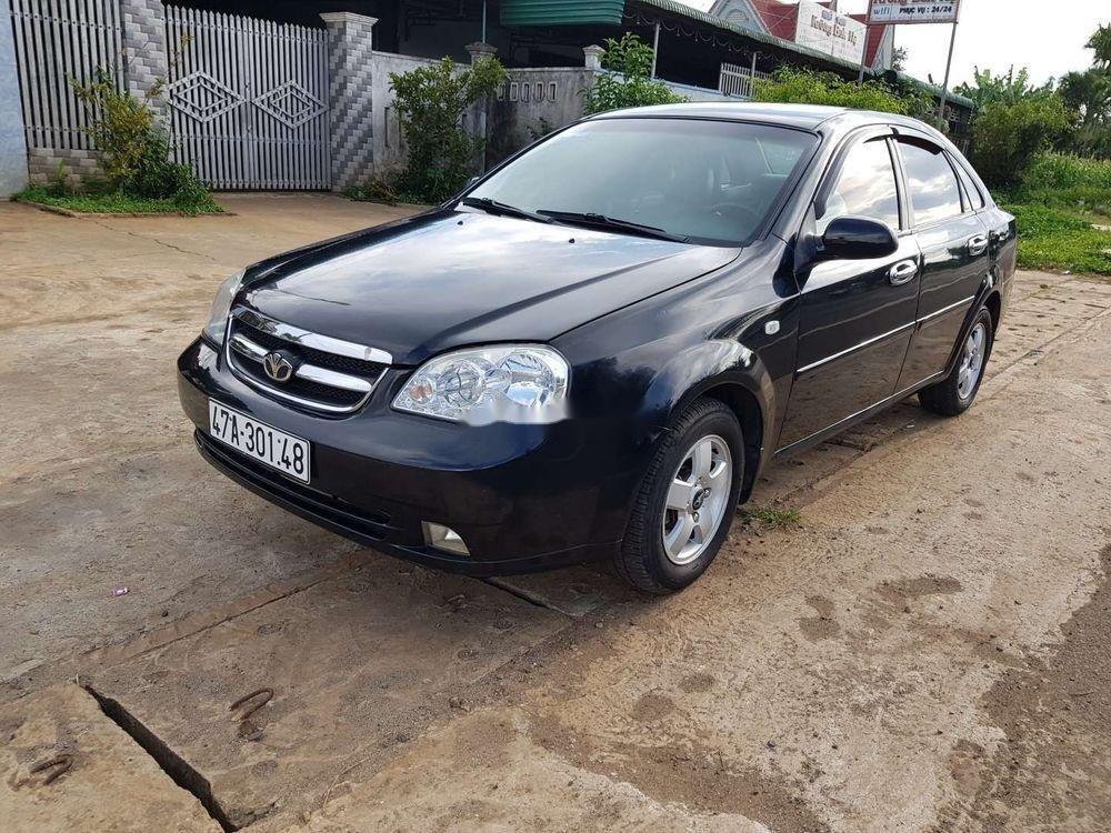 Cần bán xe Daewoo Lacetti 2008, màu đen chính chủ, giá 173tr xe nguyên bản (1)