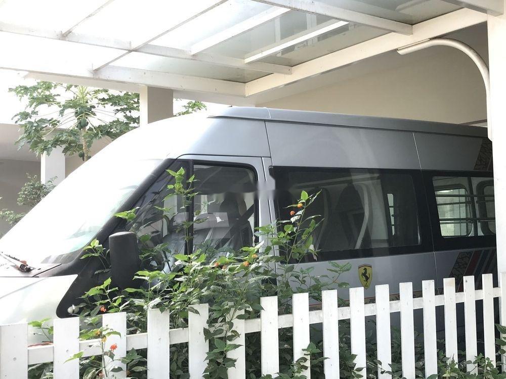 Bán Ford Transit đời 2006, màu bạc chính chủ, giá 170tr xe nguyên bản (4)