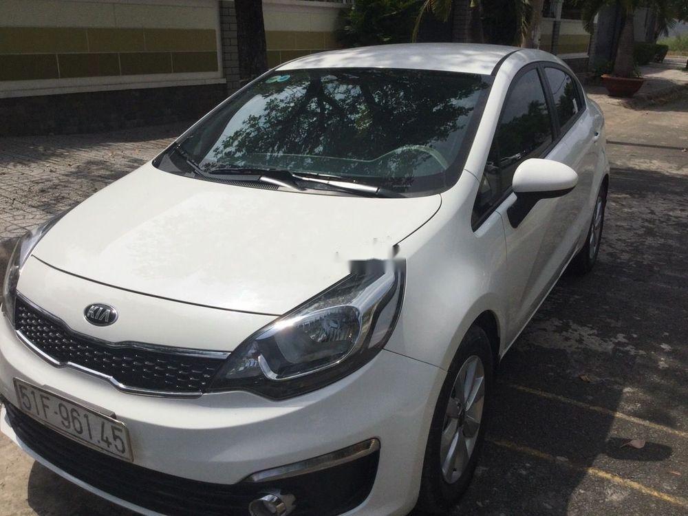 Bán Kia Rio năm sản xuất 2016, màu trắng, nhập khẩu chính hãng (1)