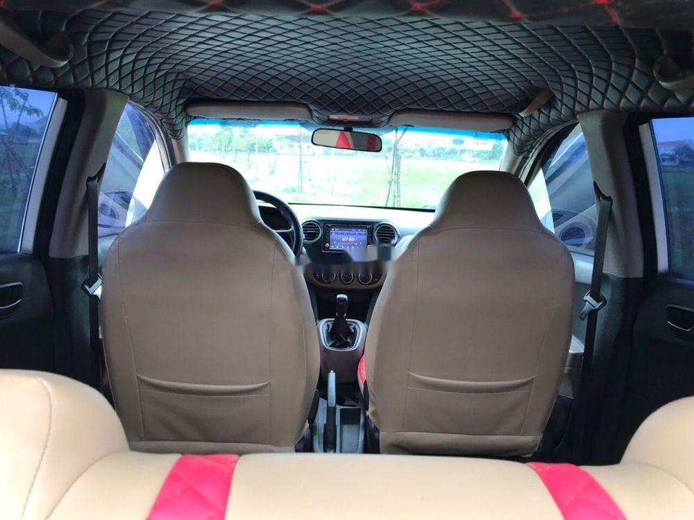Cần bán Hyundai Grand i10 2015, màu trắng, xe nhập, xe gia đình (7)