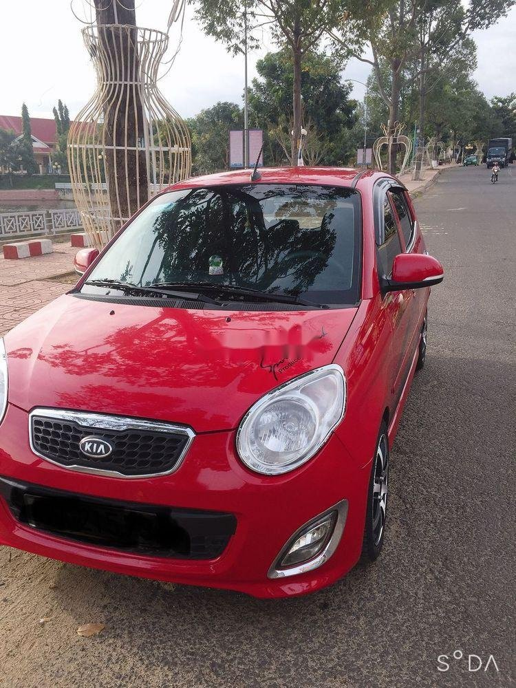 Cần bán xe Kia Morning năm sản xuất 2010, màu đỏ, nhập khẩu chính hãng (4)