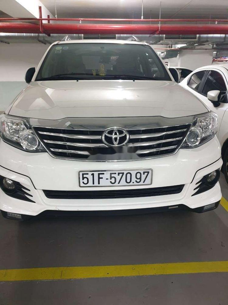 Cần bán lại xe cũ Toyota Fortuner 2016, màu trắng, nhập khẩu, 820tr (1)
