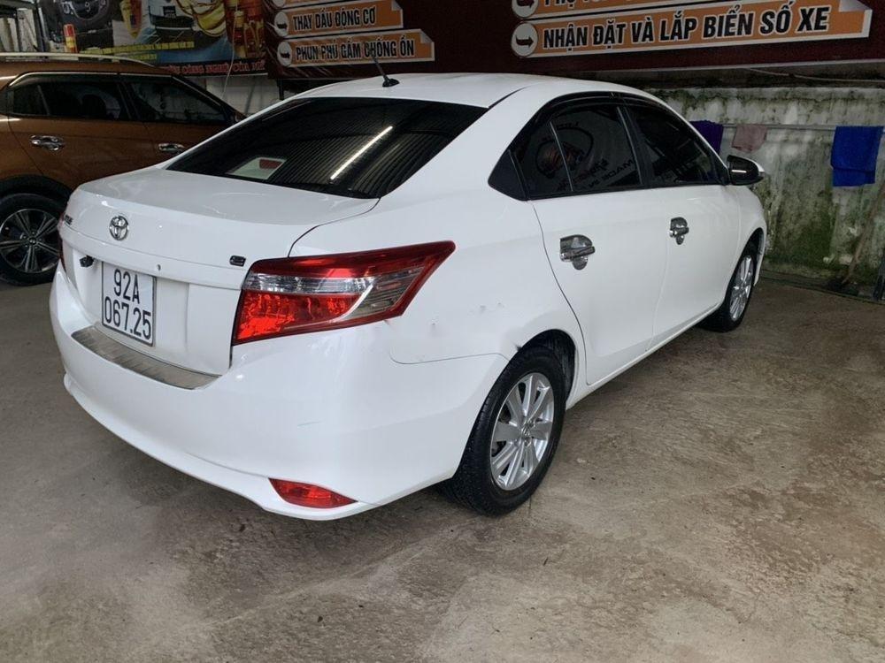 Bán Toyota Vios sản xuất 2016, màu trắng xe nguyên bản (4)