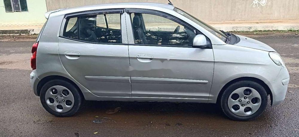 Bán xe Kia Morning đời 2011, màu bạc chính chủ xe nguyên bản (10)