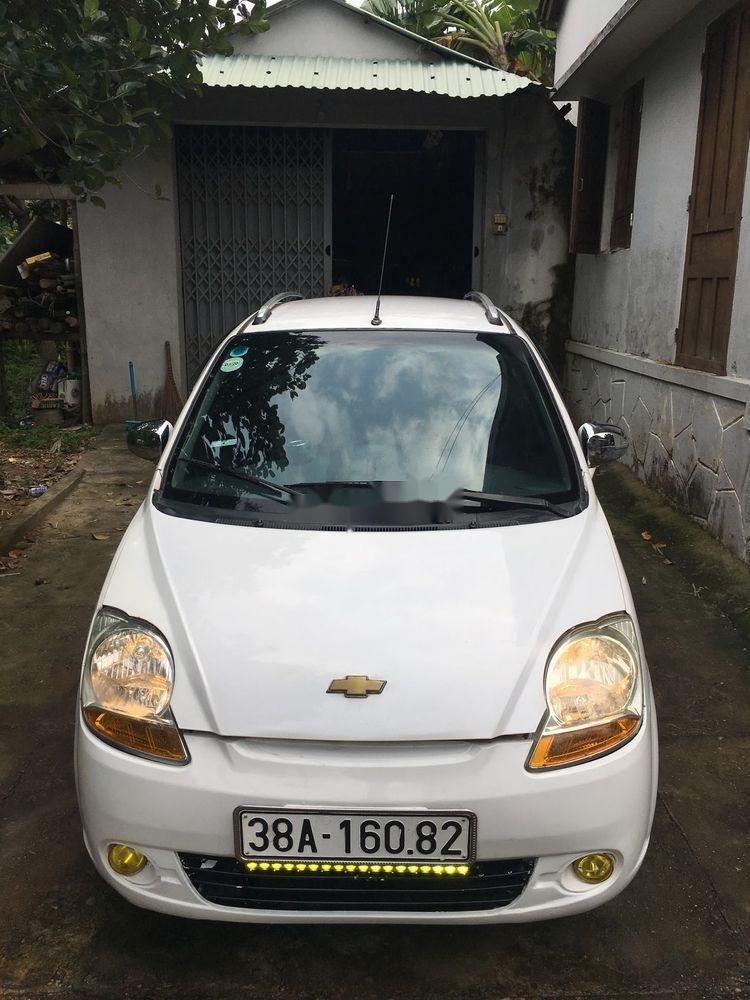 Bán xe Chevrolet Spark 2009, màu trắng, giá tốt (2)
