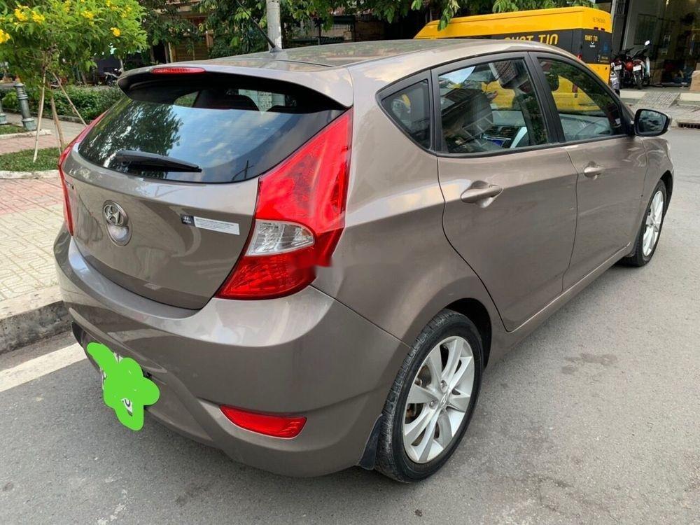 Bán Hyundai Accent sản xuất 2014, màu nâu xe gia đình, 438 triệu xe nguyên bản (1)