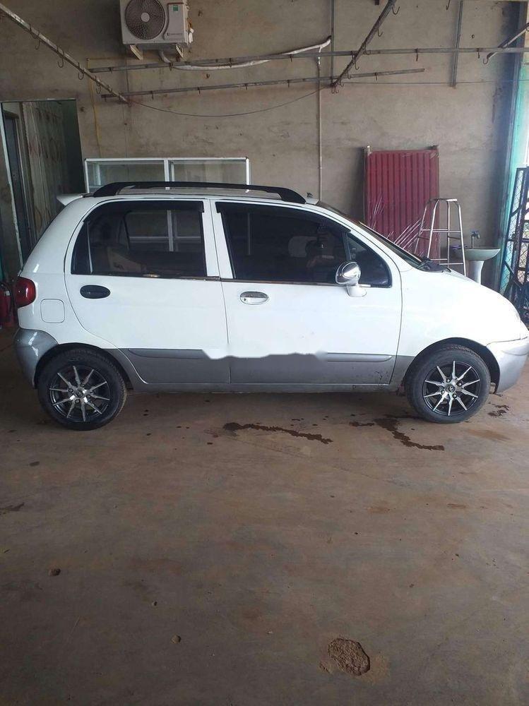 Bán Daewoo Matiz năm sản xuất 2008, màu trắng xe gia đình, giá 95tr xe còn nguyên bản (4)