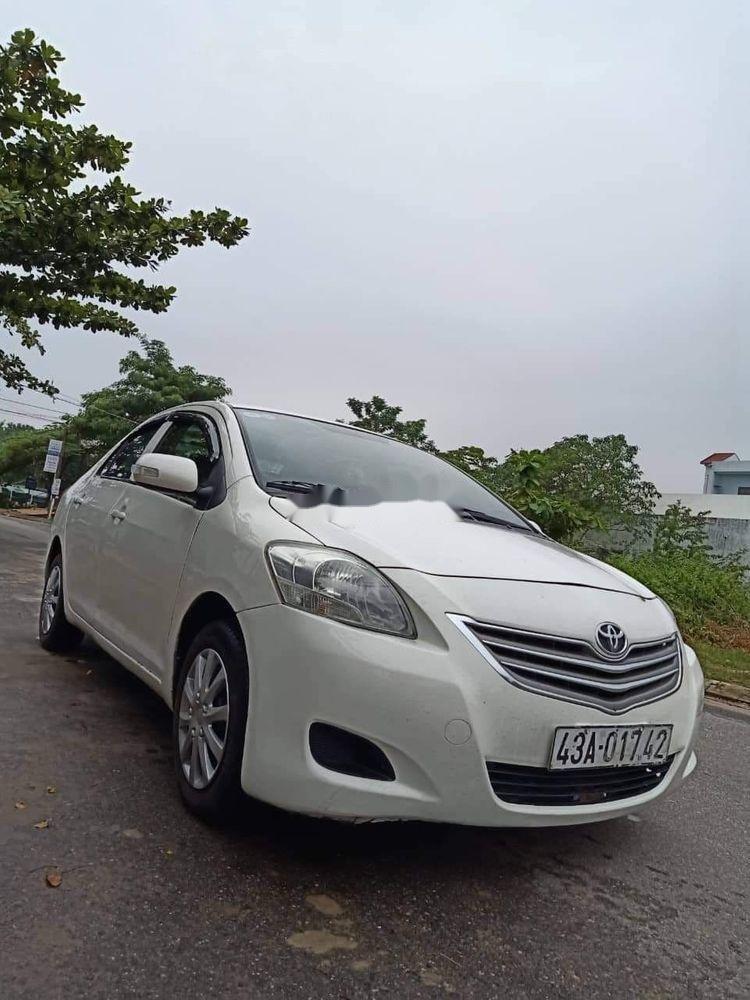 Cần bán gấp Toyota Vios sản xuất 2011, màu trắng xe gia đình, 235tr xe nguyên bản  (4)