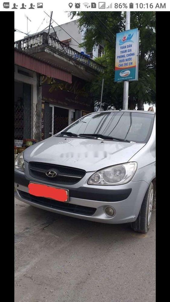 Cần bán Hyundai Getz 2009, màu bạc, nhập khẩu, giá chỉ 170 triệu (1)