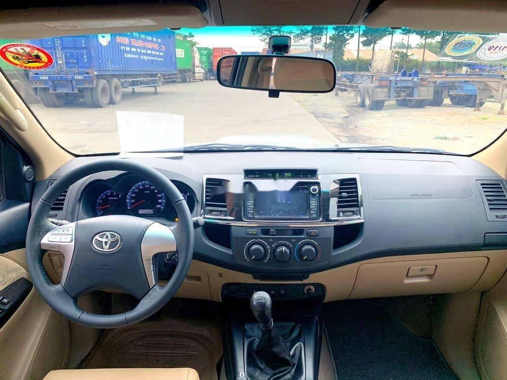 Bán Toyota Fortuner đời 2015, màu bạc chính chủ, giá tốt xe nguyên bản (7)