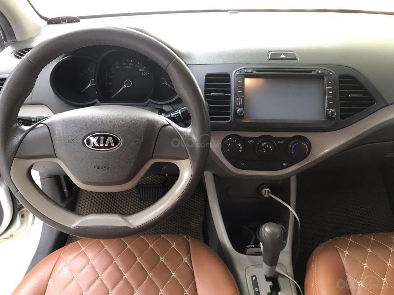 Bán xe Kia Morning sản xuất 2014 cam kết xe không đâm và không ngập nước (4)