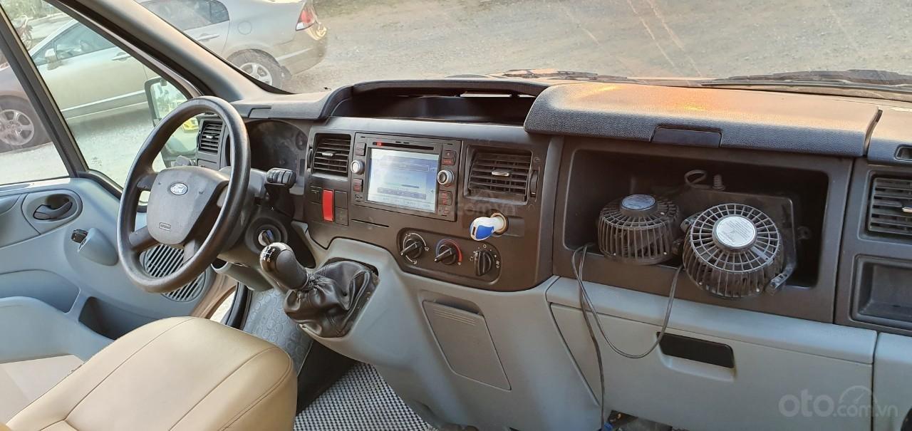 Ford Transit 16 chỗ đời 2009 màu bạc, xe 16 chỗ giá rẻ Hải Phòng (5)