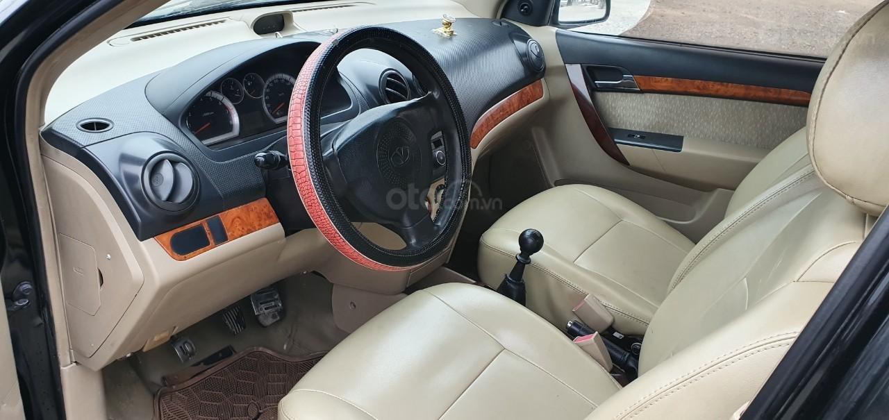 Bán Daewoo Gentra 2007 màu đen, sedan 2 đầu giá rẻ chỉ có 139 tr, 0964674331 (6)