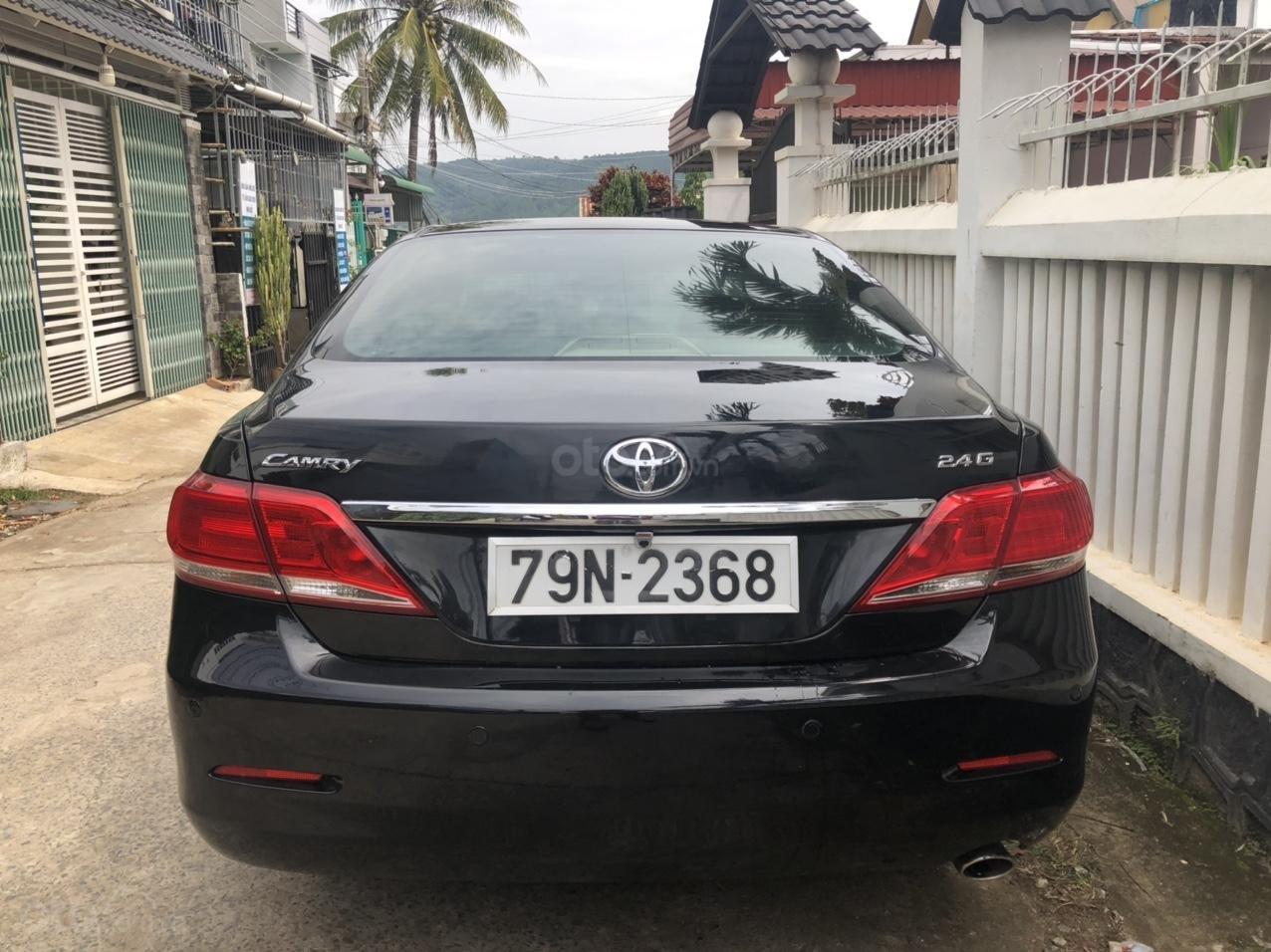 Cần bán ô tô Toyota Camry đời 2010, màu đen, giá chỉ 565 triệu LH: 0918611968 (2)