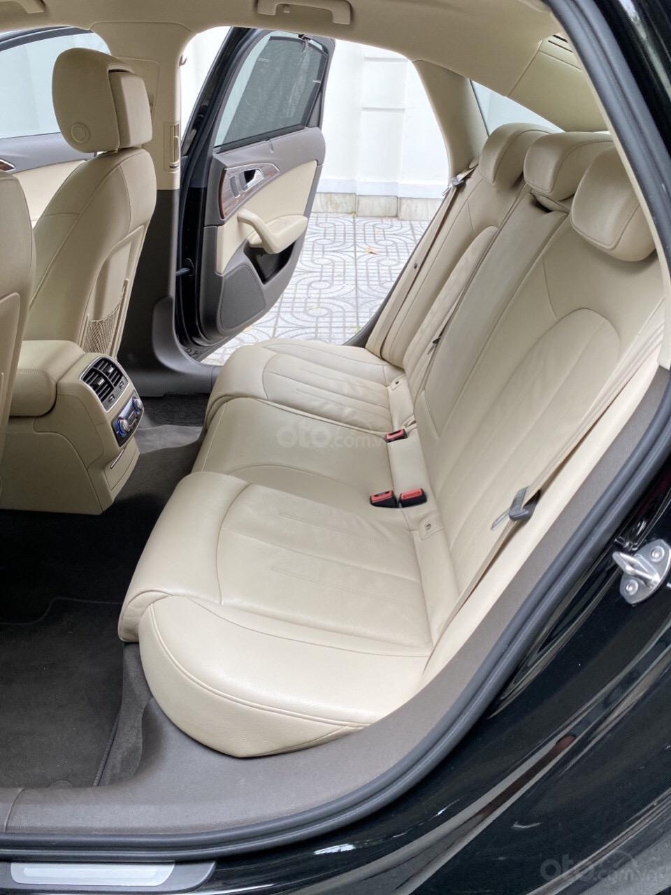 Bán Audi A6 2015 đăng ký 2017 màu đen nội thất kem  xe đẹp, không lỗi bao check tại hãng (6)