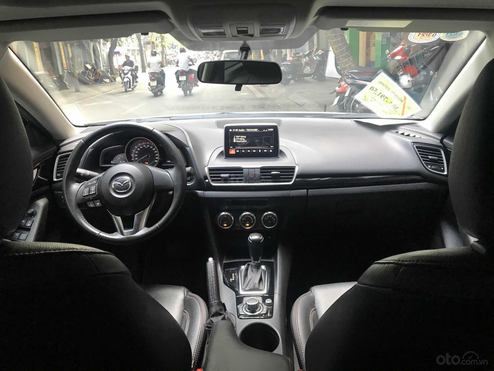 Cần bán lại xe Mazda 3 đời 2015, màu trắng xe gia đình giá tốt 575 triệu đồng (10)