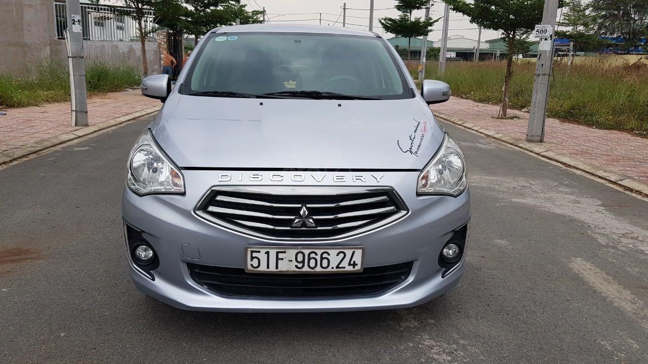 Bán ô tô Mitsubishi Attrage đăng ký lần đầu 2016, màu bạc nhập khẩu giá tốt 315 triệu đồng (1)