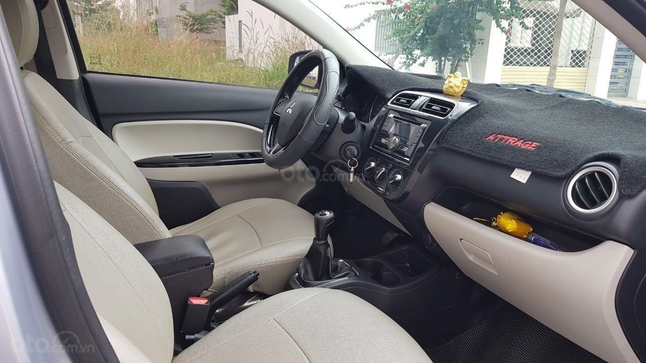 Bán ô tô Mitsubishi Attrage đăng ký lần đầu 2016, màu bạc nhập khẩu giá tốt 315 triệu đồng (5)