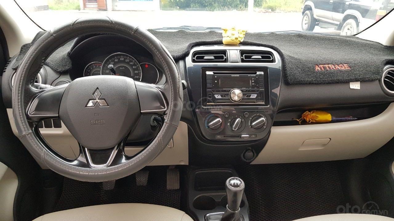 Bán ô tô Mitsubishi Attrage đăng ký lần đầu 2016, màu bạc nhập khẩu giá tốt 315 triệu đồng (7)