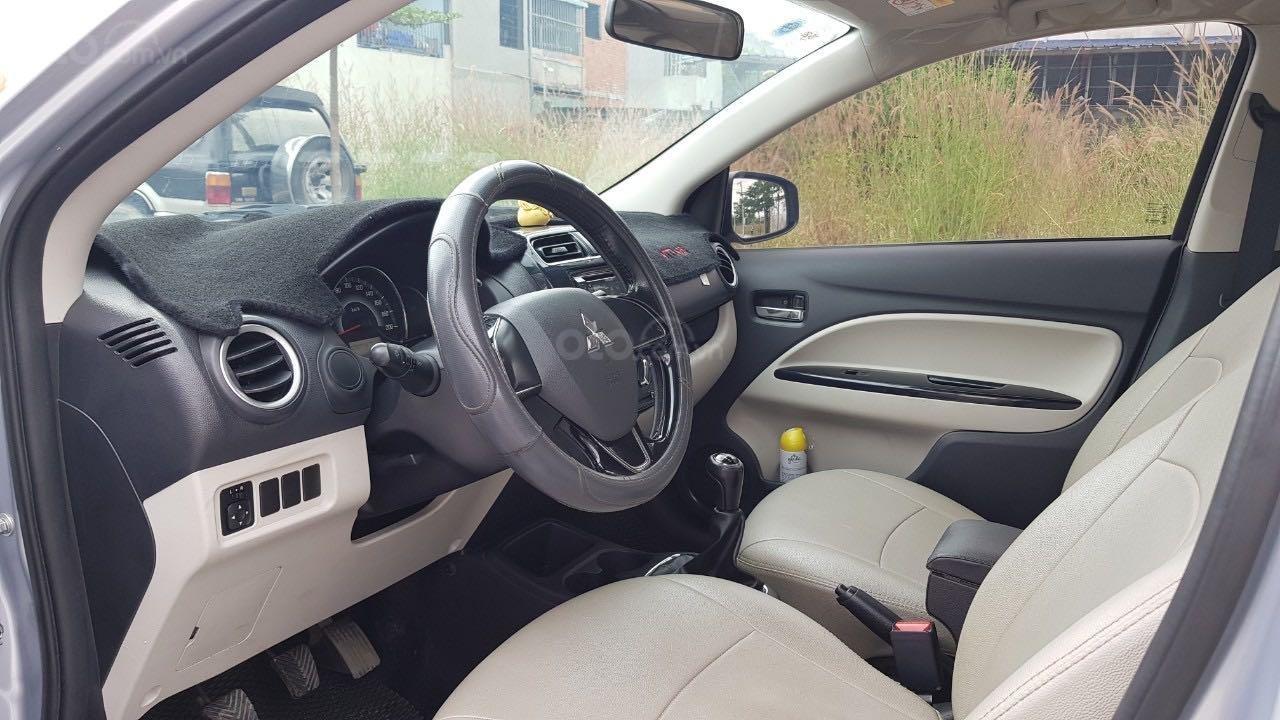 Bán ô tô Mitsubishi Attrage đăng ký lần đầu 2016, màu bạc nhập khẩu giá tốt 315 triệu đồng (8)