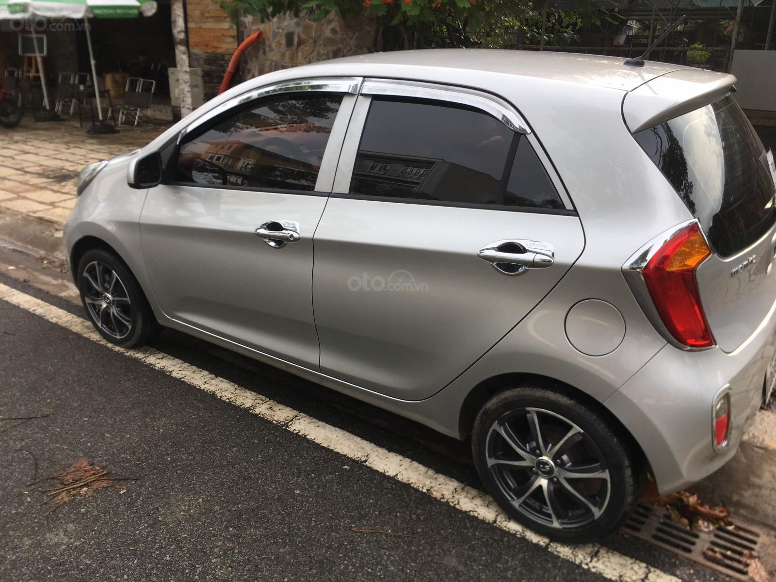 Cần bán xe Kia Morning sản xuất 2013, màu bạc, giá 245tr (6)