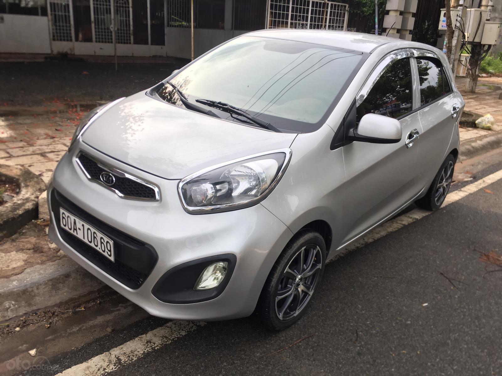 Cần bán xe Kia Morning sản xuất 2013, màu bạc, giá 245tr (1)