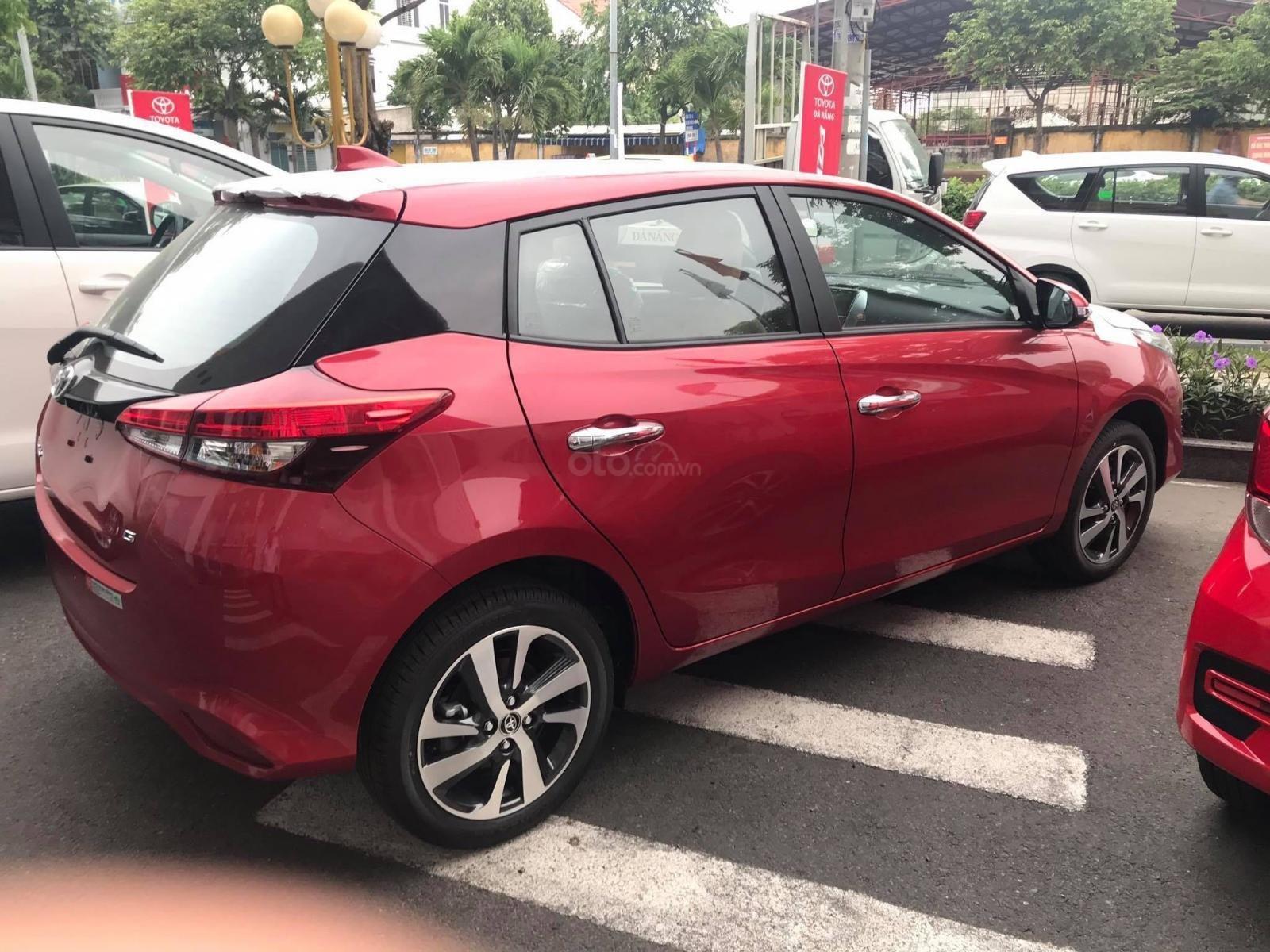 Cần bán xe Toyota Yaris đăng ký lần đầu 2019, màu Đỏ nhập khẩu giá chỉ 625 triệu đồng (2)