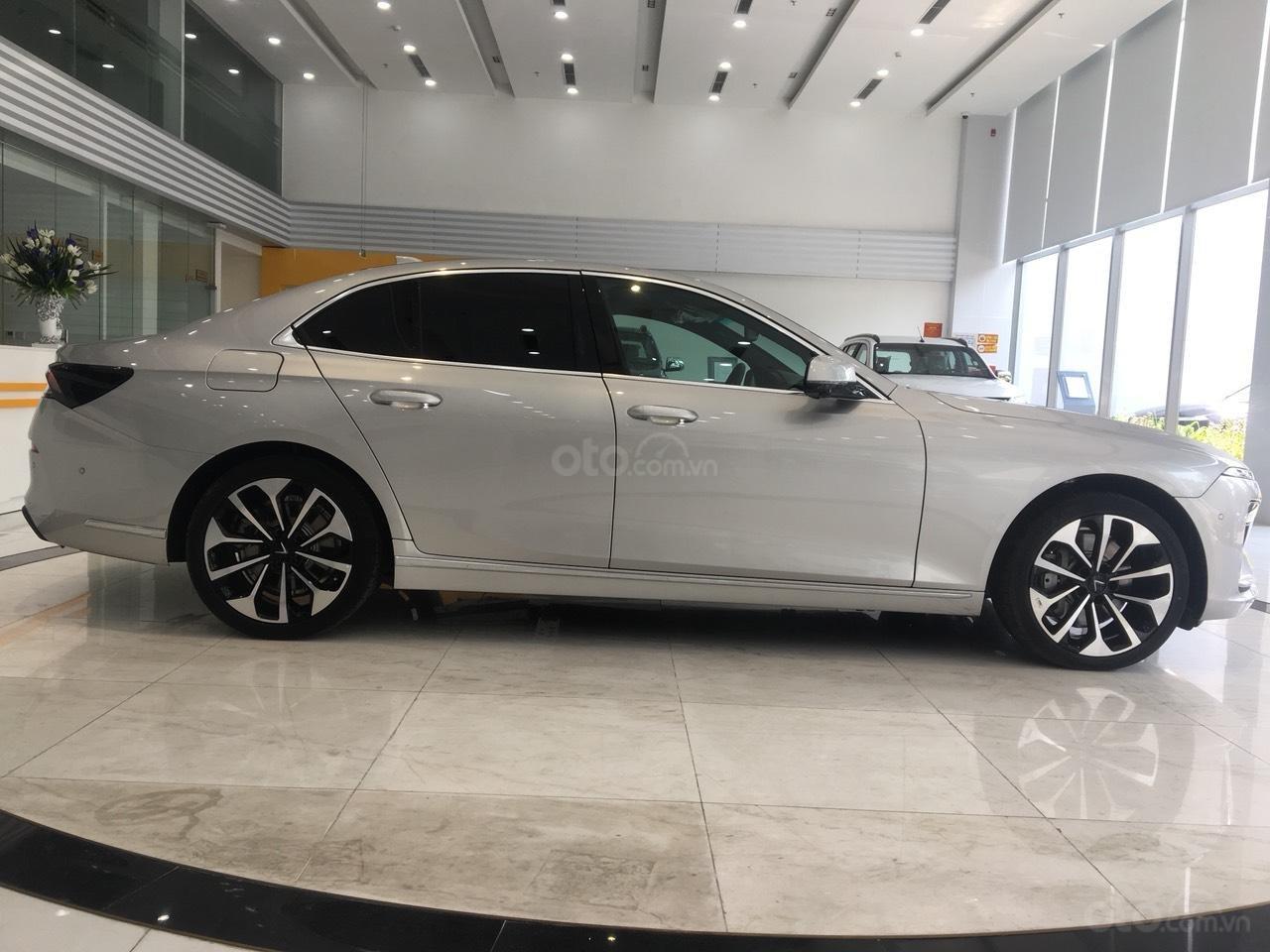 Bán xe VinFast LUX A2.0 full-Da Nappa Nâu 2019, màu bạc 0911234775 em Long (2)
