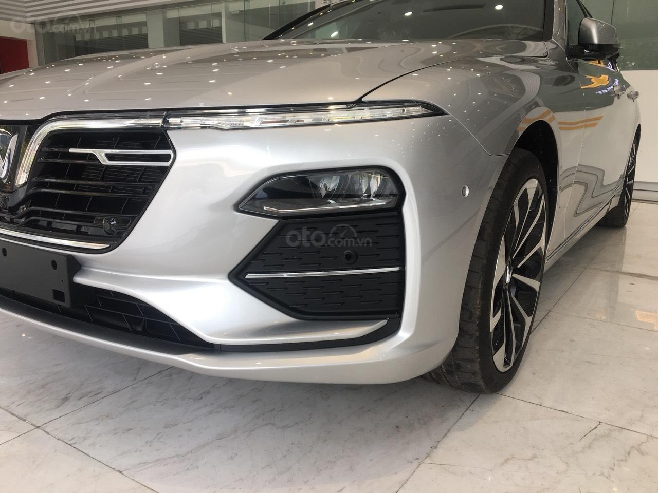 Bán xe VinFast LUX A2.0 full-Da Nappa Nâu 2019, màu bạc 0911234775 em Long (14)