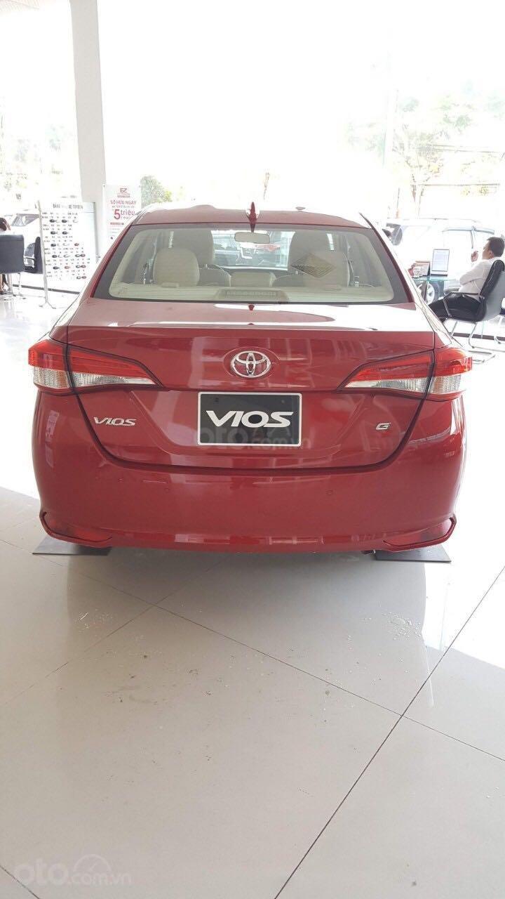 Toyota Vios G 2019, hỗ trợ vay 80% (2)