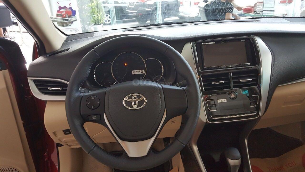 Toyota Vios G 2019, hỗ trợ vay 80% (3)