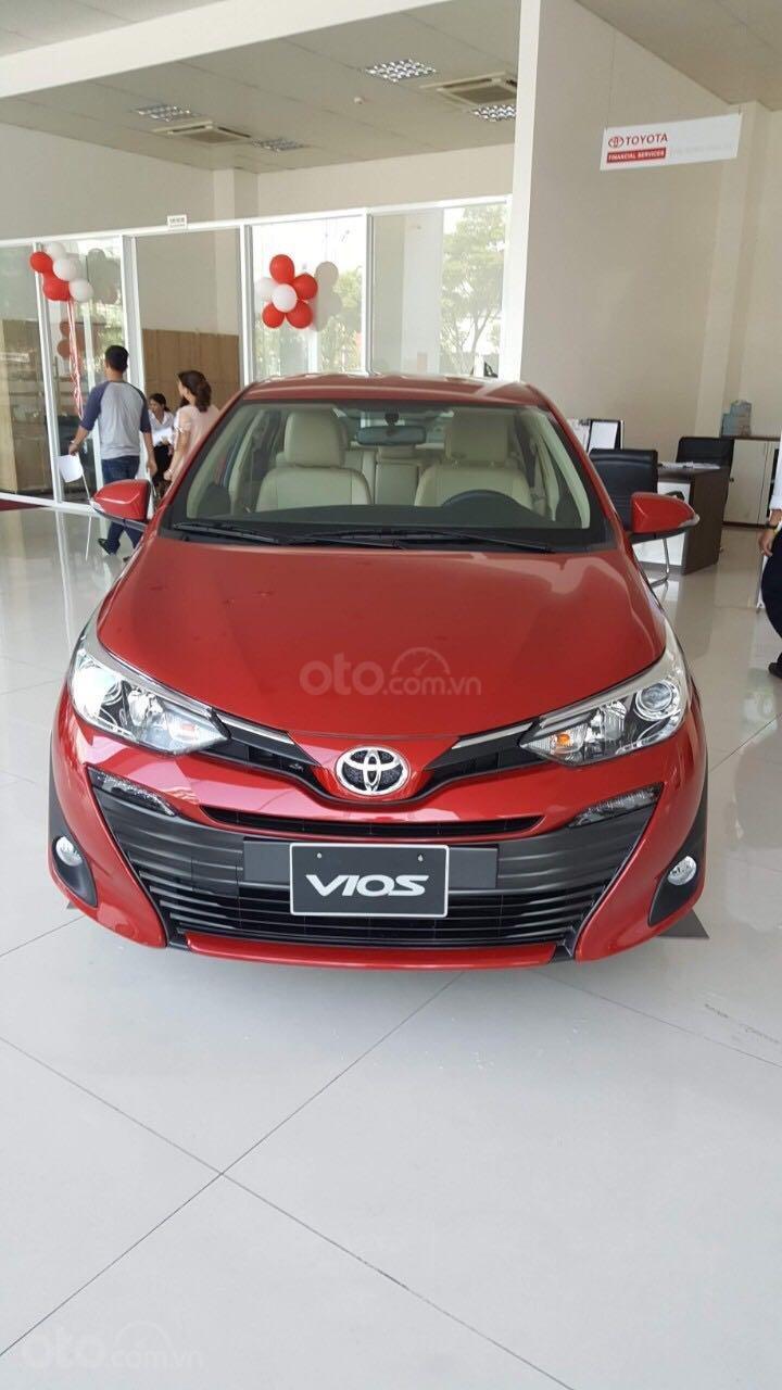 Toyota Vios G 2019, hỗ trợ vay 80% (1)