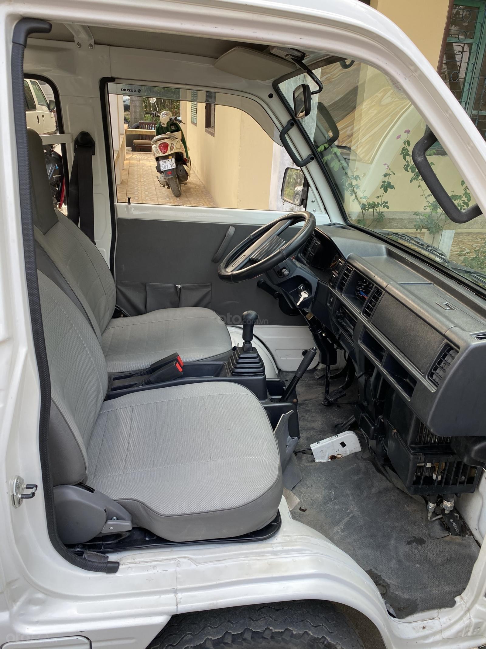 Bán Suzuki tải Van 2 chỗ đời cuối 2017, xe chất như mới, xe có điều hòa (7)