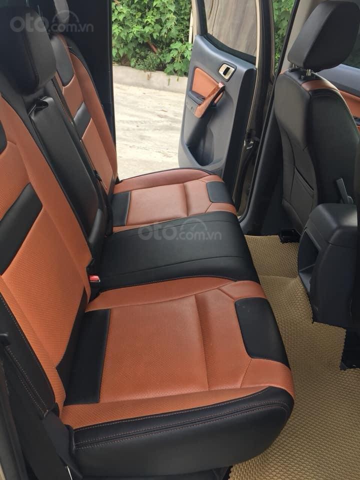 Gia đình cần bán xe Ranger XLS 2017, số sàn, máy dầu, màu xám, (5)