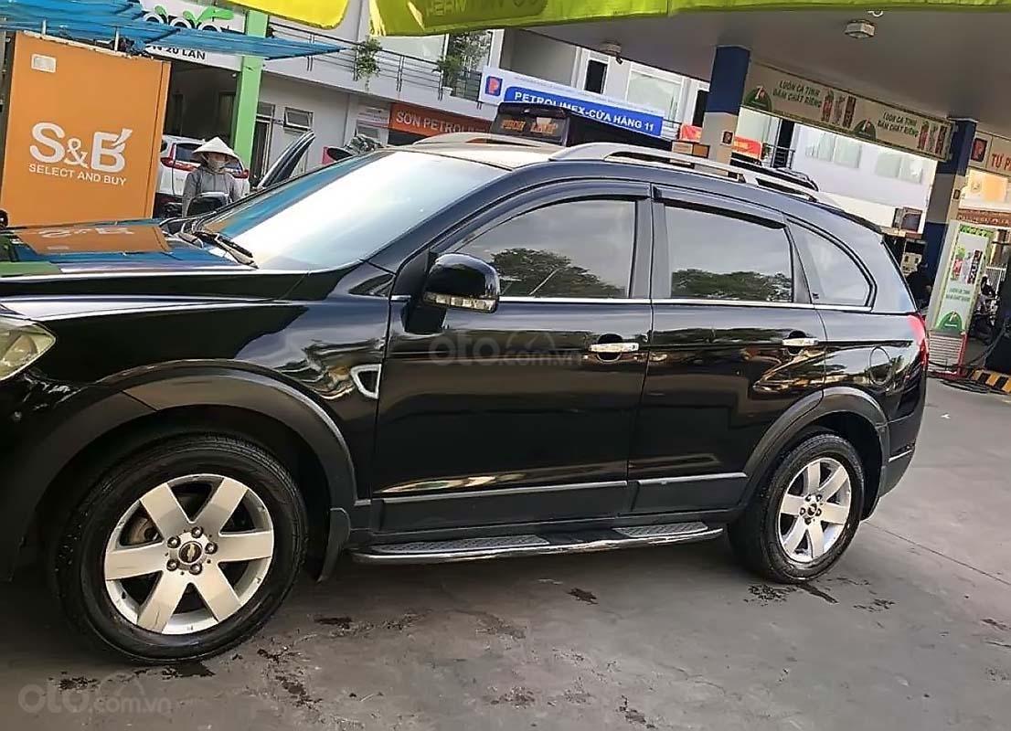 Bán ô tô Chevrolet Captiva LTZ 2.4 AT sản xuất năm 2007, màu đen (1)