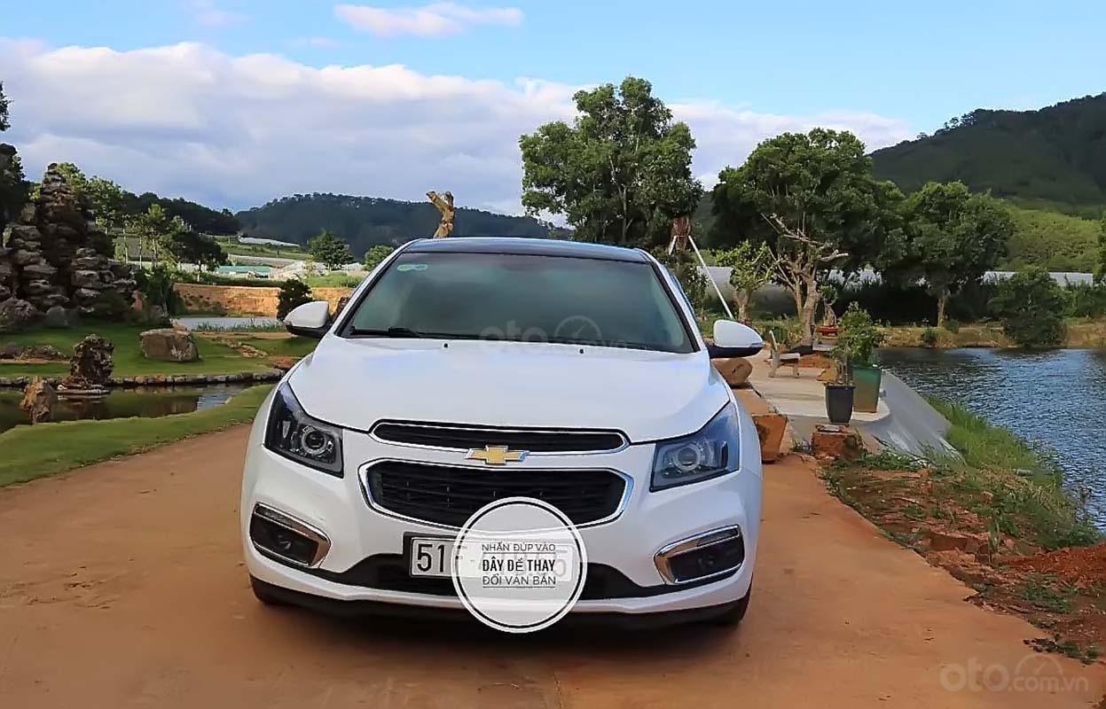 Bán Chevrolet Cruze năm 2016, màu trắng, 420tr (5)