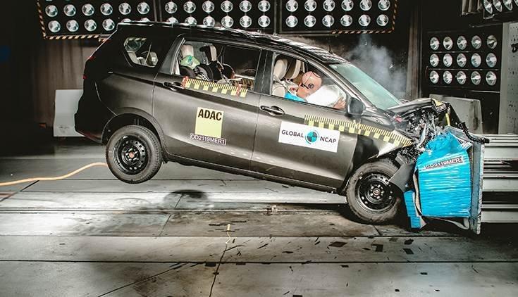 Thử nghiệm Suzuki Ertiga của Global NCAP.