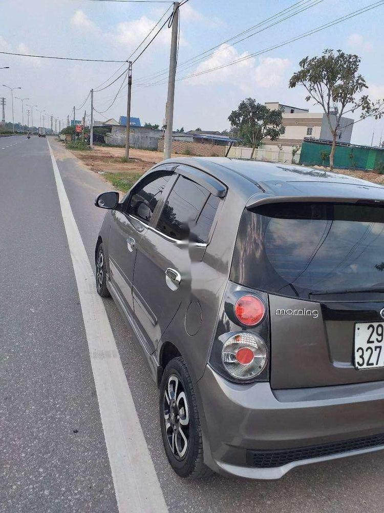 Bán xe cũ Kia Morning sản xuất 2012, màu xám (4)