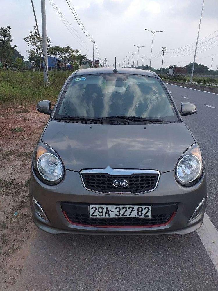 Bán xe cũ Kia Morning sản xuất 2012, màu xám (1)