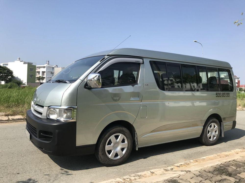 Bán Toyota Hiace đời 2010 chính chủ, 435tr xe nguyên bản (3)